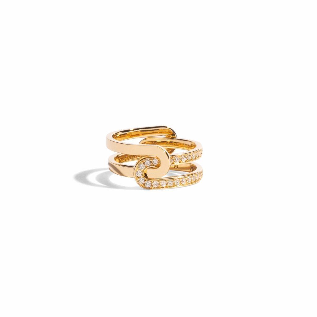 Étreintes Double Ring by Jem