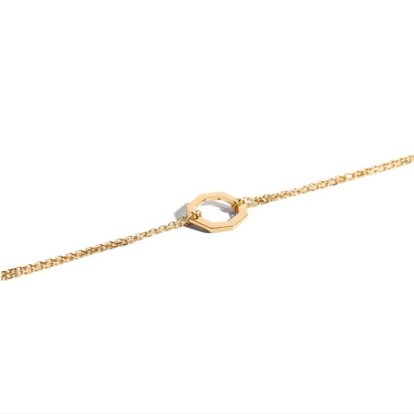 Le Petit Octogone Bracelet Yellow Gold by Jem