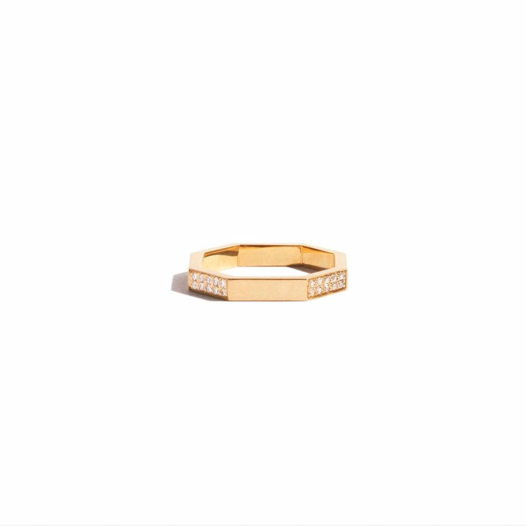 Octogone Simple Ring by Jem