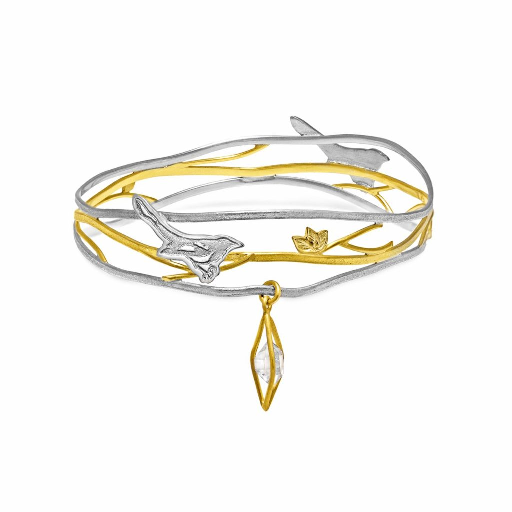 Two for Joy Nest Bangle by Julia Thompson