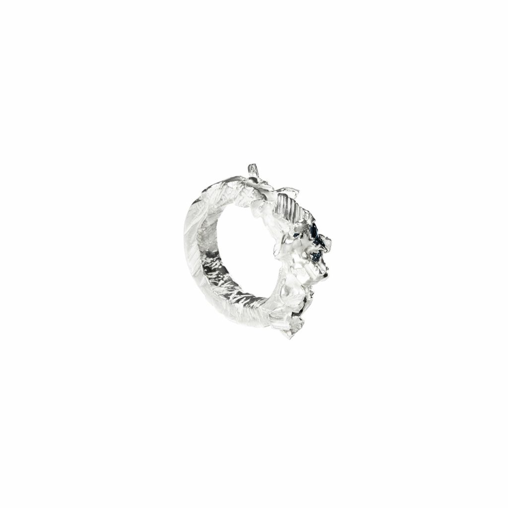 Polycrystal Ring by Zydrune