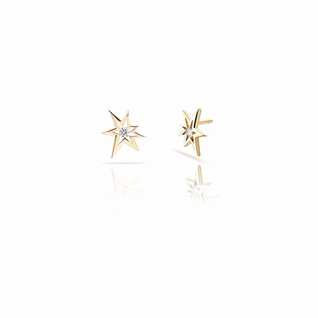 Bang Stud Earrings by Le Ster