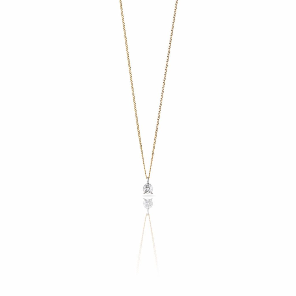Bombette Solitaire Necklace by Le Ster