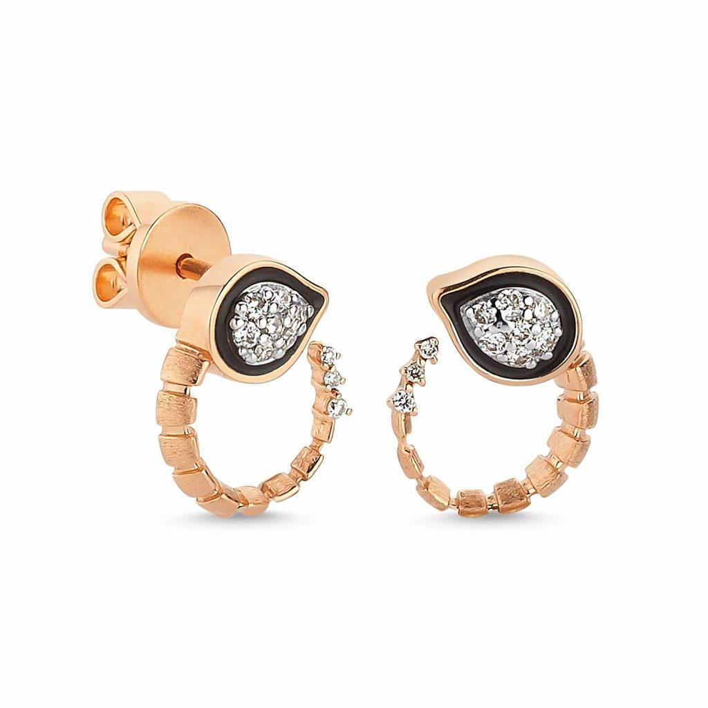 Baby Dragon Earrings by Selda Jewellery