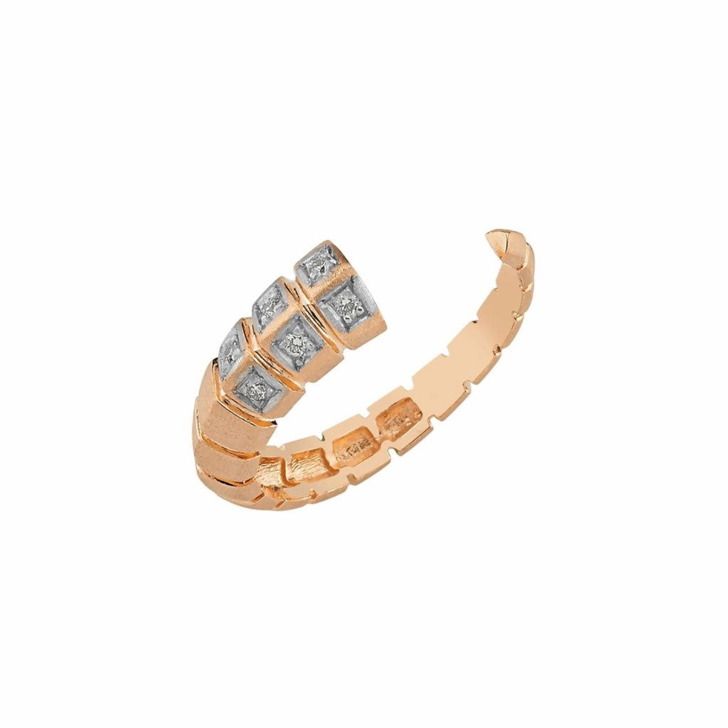 Dragon Tail Ring by Selda Jewellery