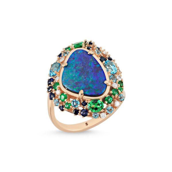 Oceanic Ring by Selda Jewellery