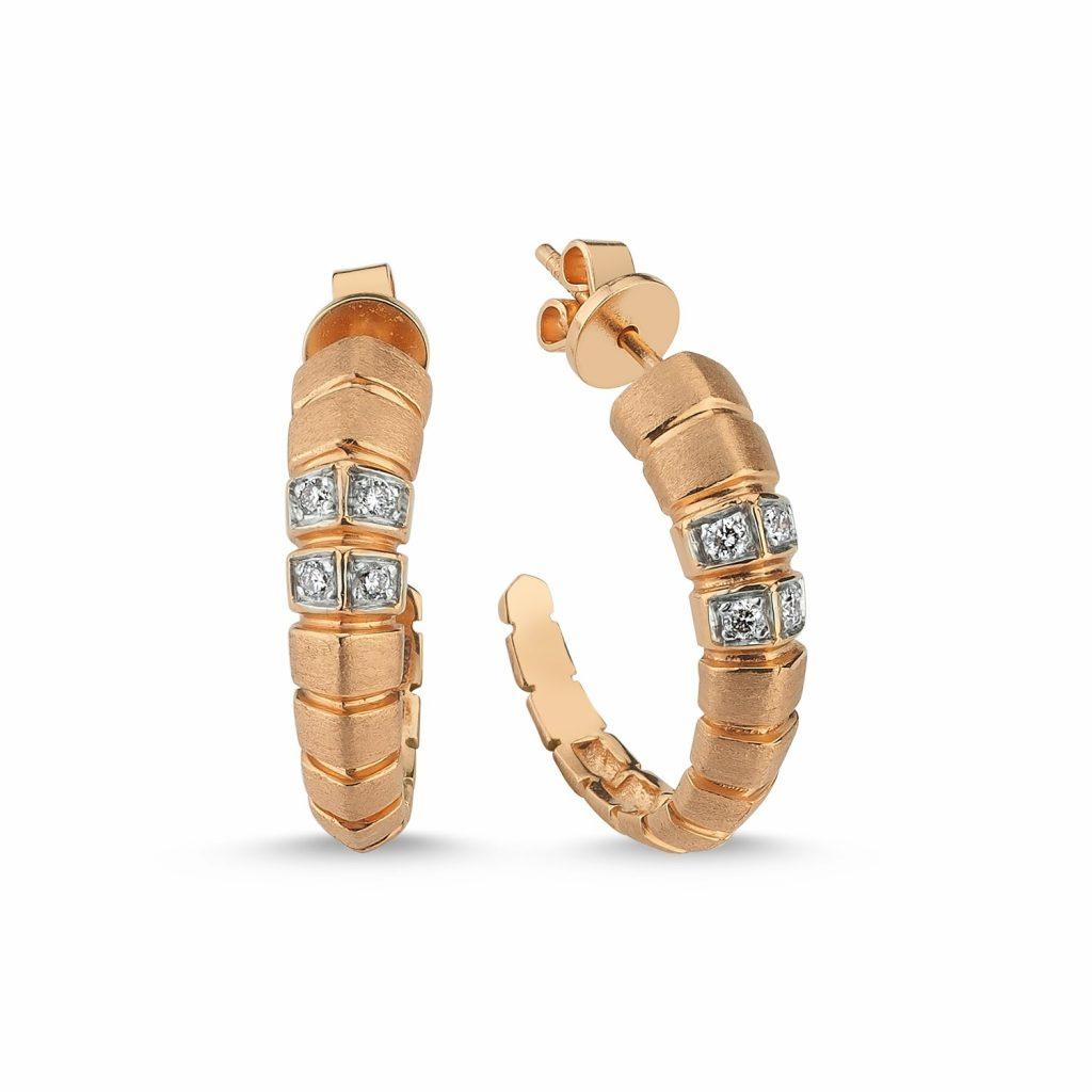 Ohopa Hoop Earrings by Selda Jewellery