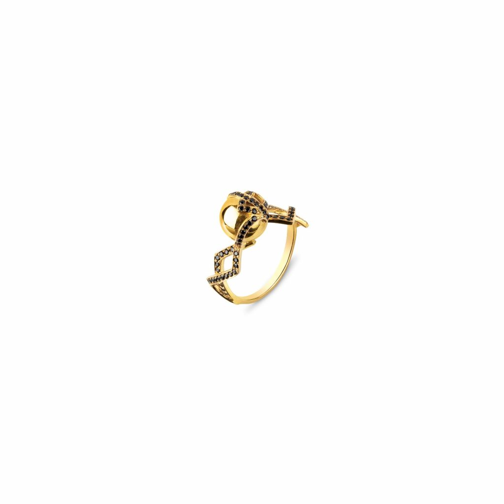 Single Orb Ring by Zydrune