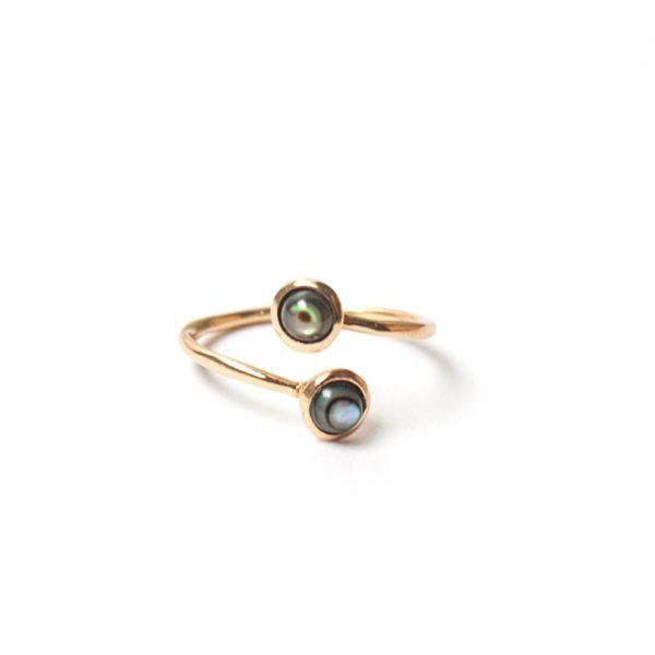 Eska Stack Duo Ring by NIIN