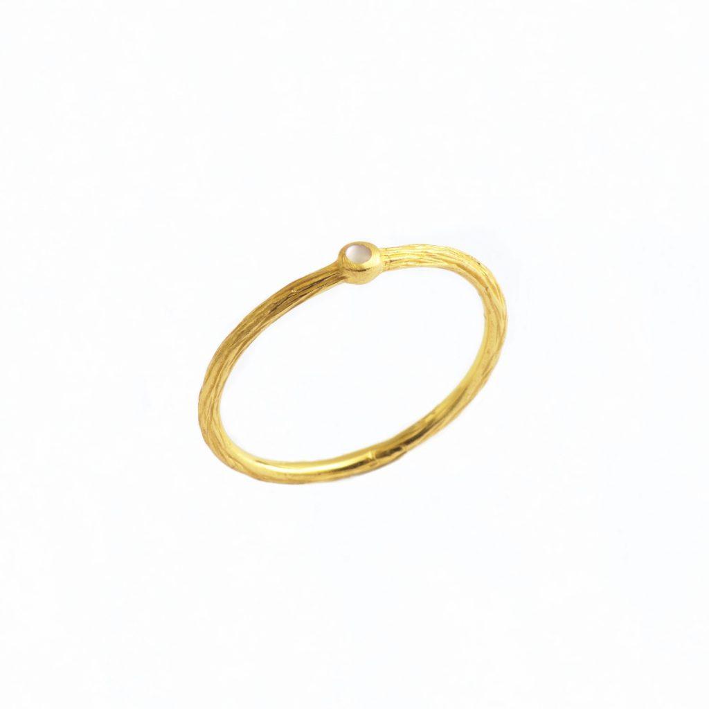 Eska Mini Stack Ring by NIIN