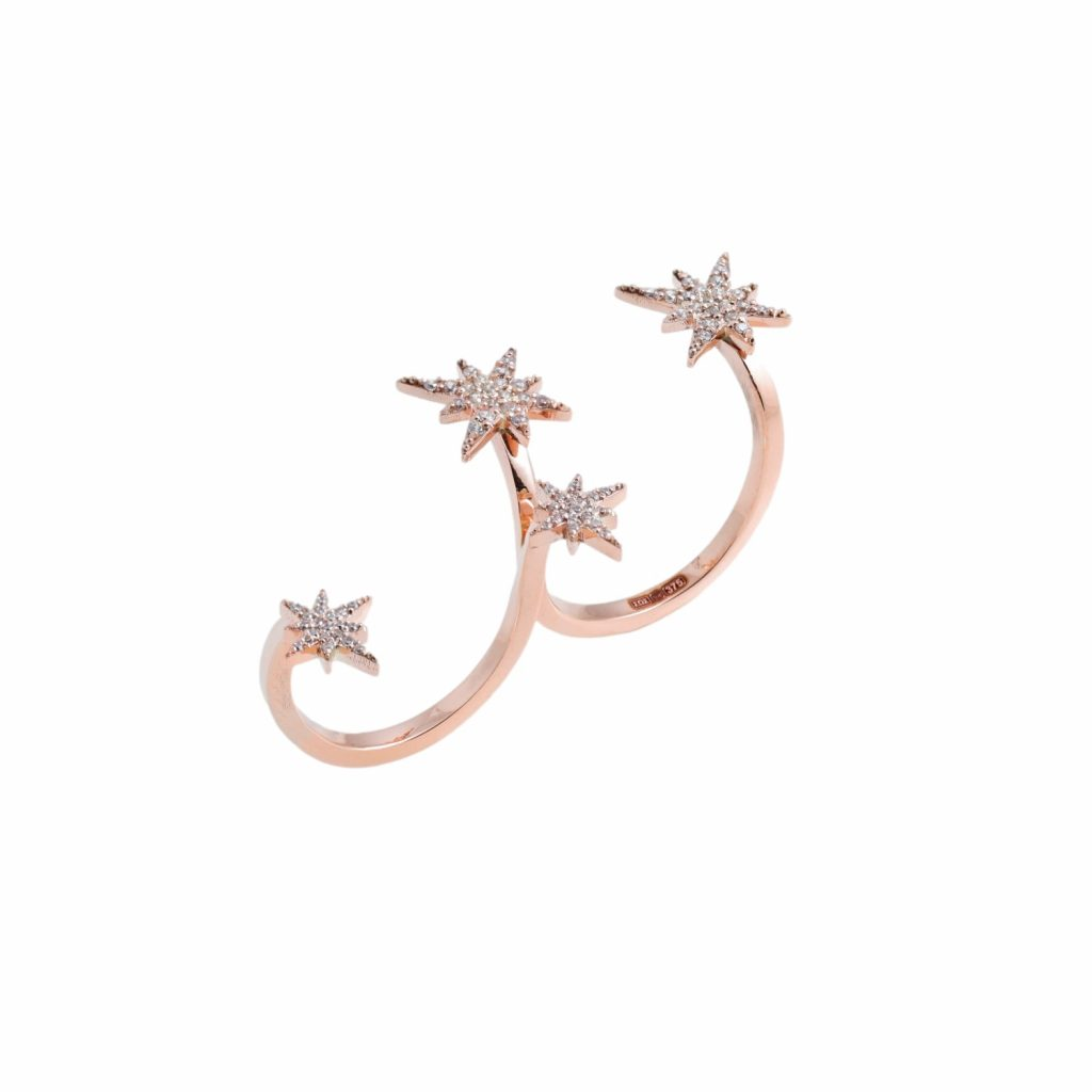 Astral Double Finger Ring by MyriamSOS