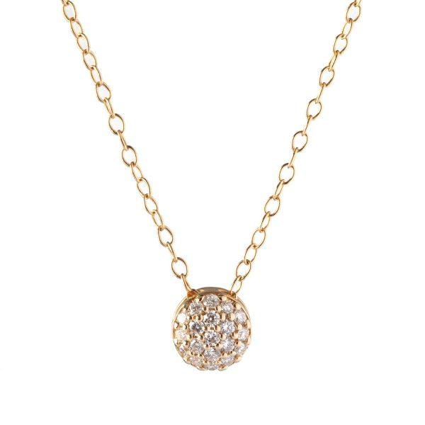 April Birthstone Dot Necklace by Sandy Leong
