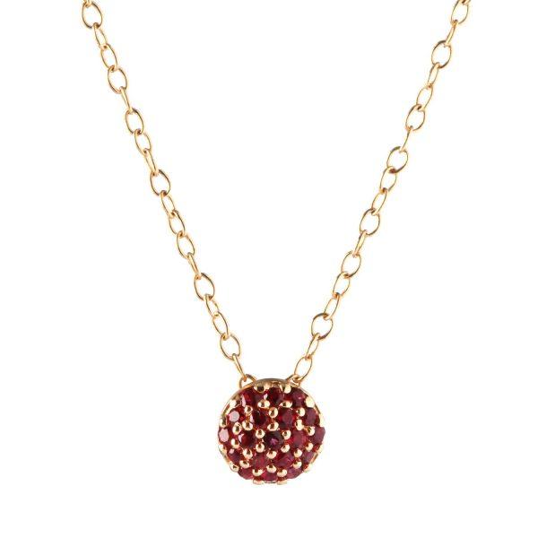 January Birthstone Dot Necklace by Sandy Leong