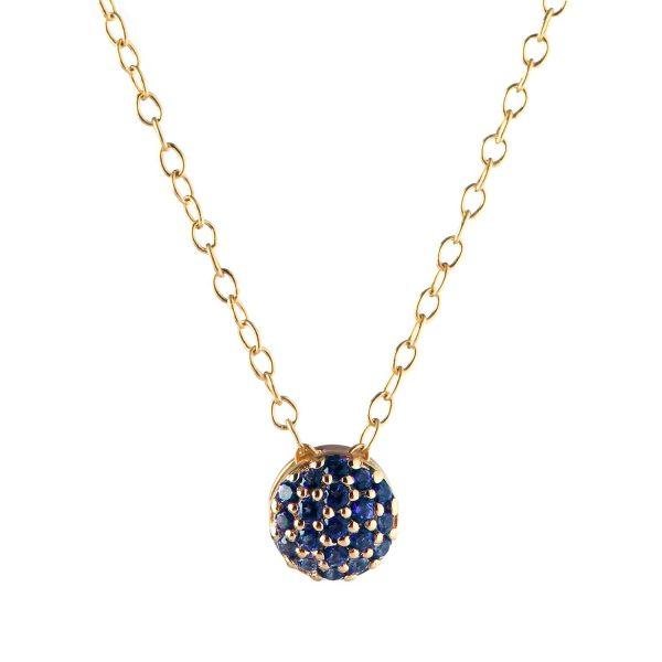 September Birthstone Dot Necklace by Sandy Leong