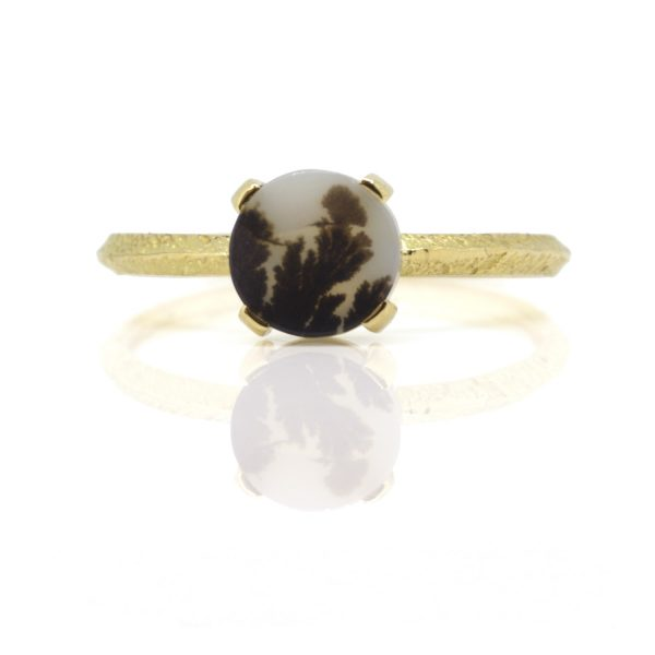 Agate Round Ring by Sorrel Bay