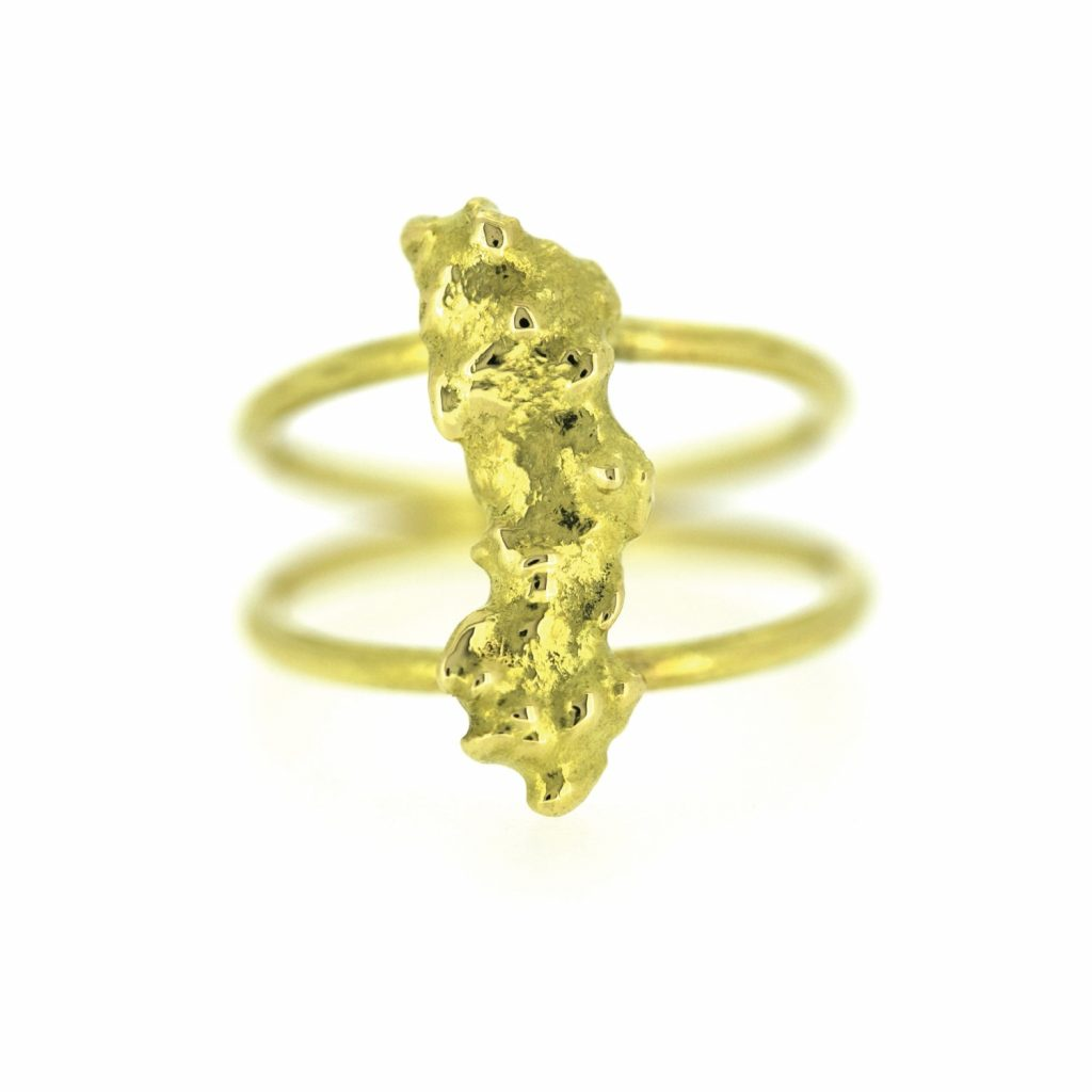 GoldRush Nugget Ring by The Rock Hound