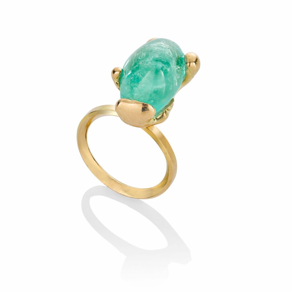 Molten Muzo Ring by The Rock Hound