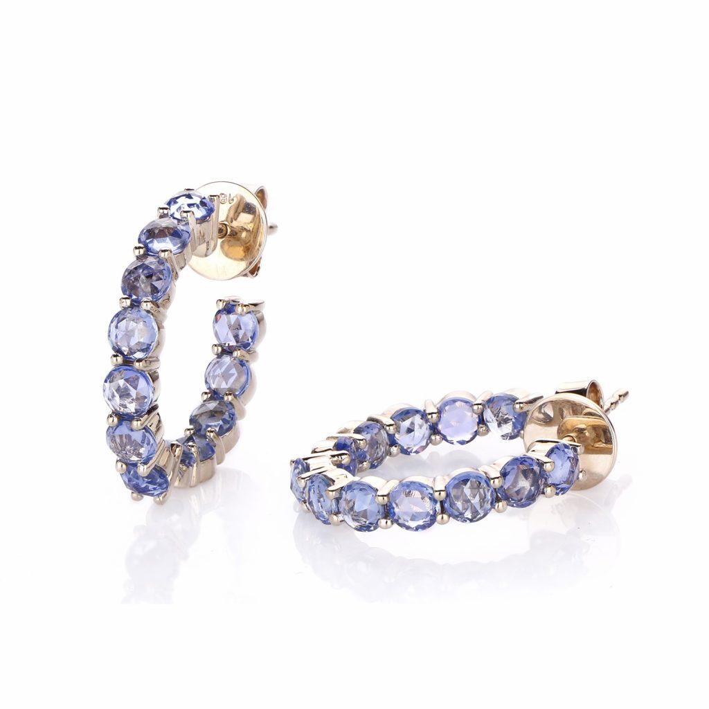 Earring Zero 4 – Sapphires by IVAR by Ritika Ravi
