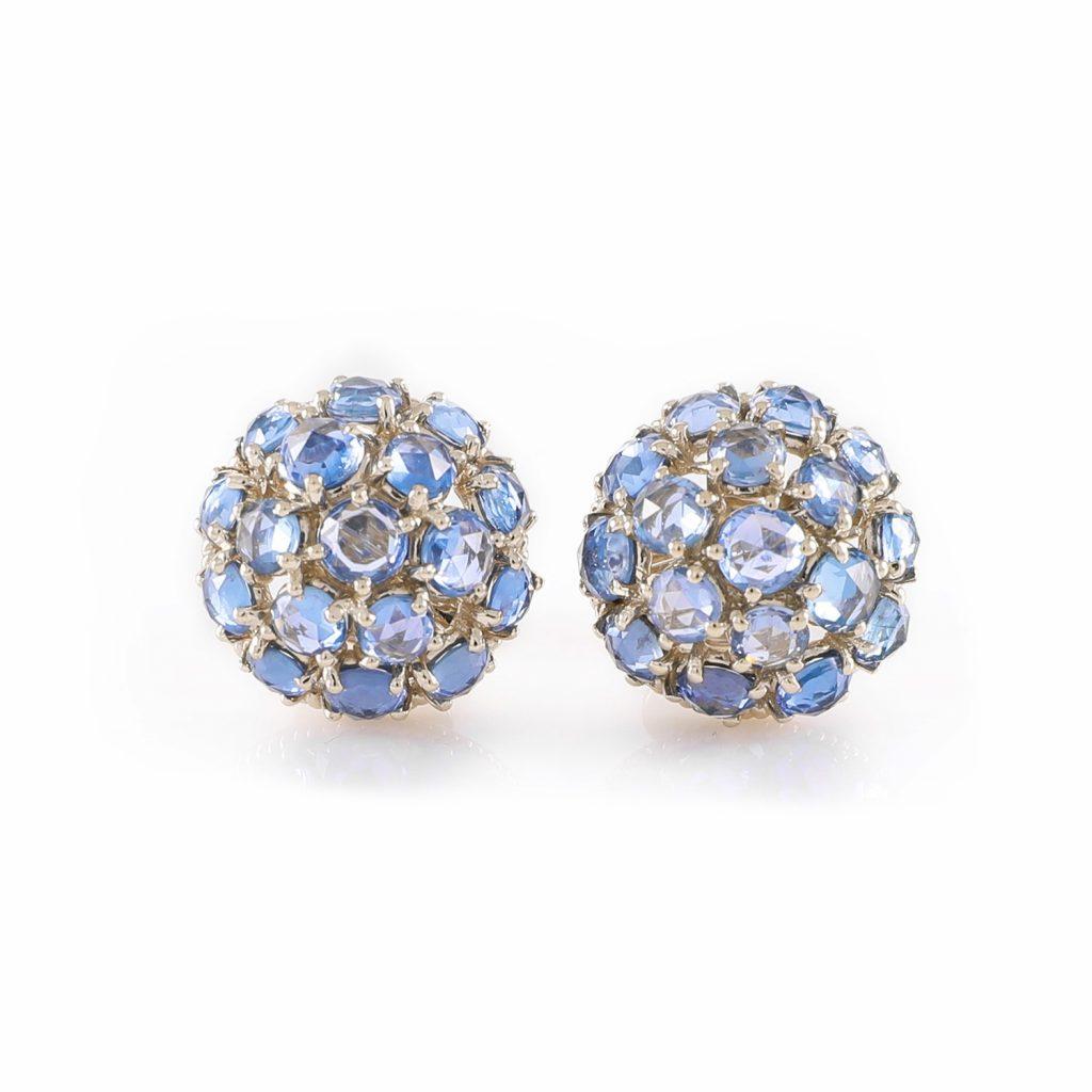 Earring Zero 1 – Sapphires by IVAR by Ritika Ravi