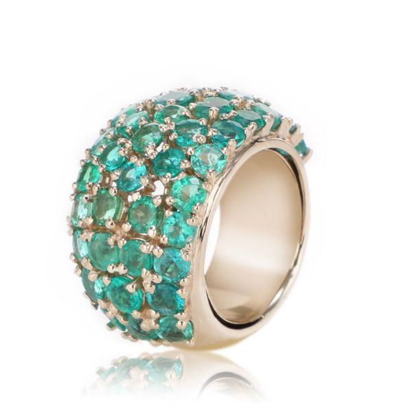 Ring Zero 3 – Emeralds by IVAR by Ritika Ravi