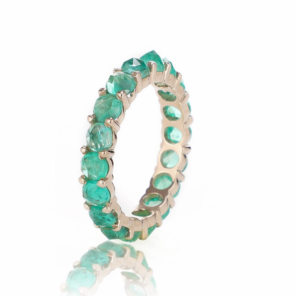 Ring Zero 5 – Emeralds by IVAR by Ritika Ravi