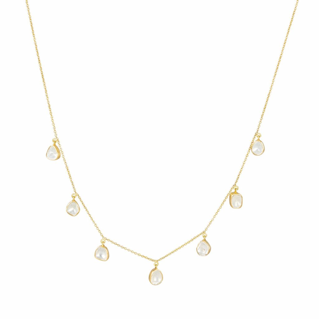 Polki Garland Necklace (Large) by Sophie Theakston