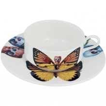 Croceus Cup and Saucer Set