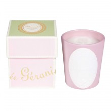 New Rose Geranium Perfumed Candle
