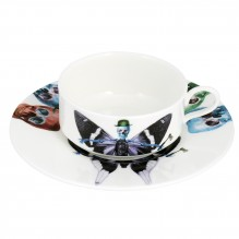 Vis Cup and Saucer Set
