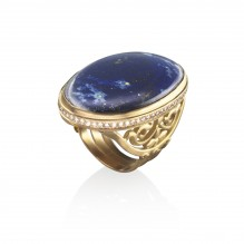 The Ajoure Cocktail Ring