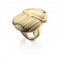 The Golden Scarab Ring