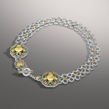 T-Lock Diamond Necklace