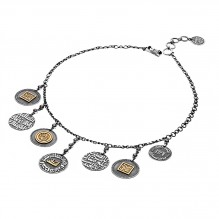 Coins Charm Necklace