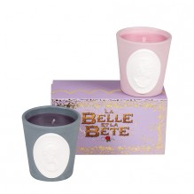 La Belle et La Bete Candle Duo