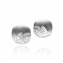 Art Deco Lotus Earrings