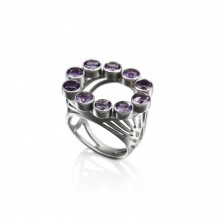 See-Through Lotus Ring