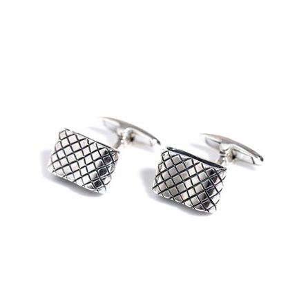 Rectangle Loop Cufflinks
