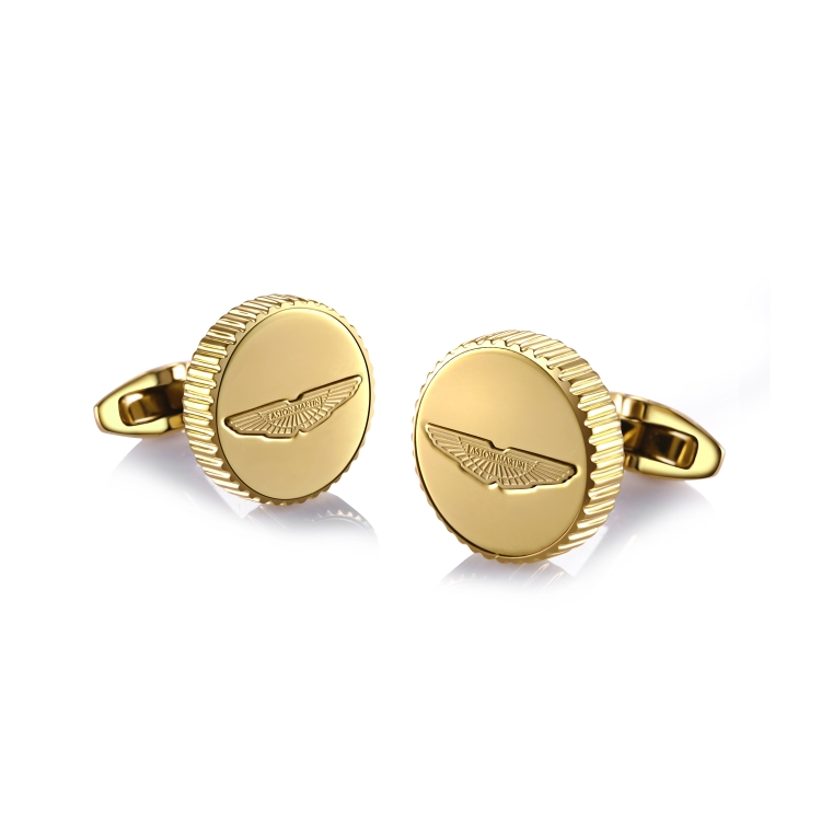 Gold Plated Wings Cufflinks